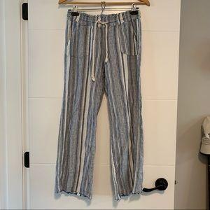 Urban Heritage   Striped Linen Pants